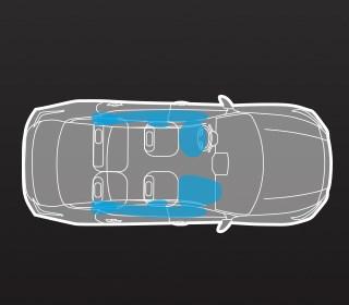 10 SRS安全輔助氣囊