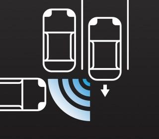 RCTA後方車側警示系統