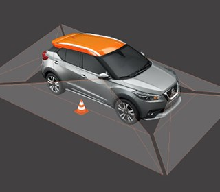 AVM 360°環景影像監控系統/MOD移動物體偵測系統