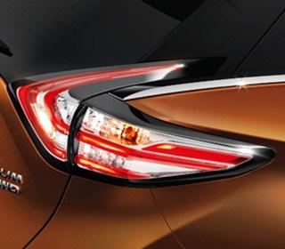 迴力鏢型LED頭尾燈