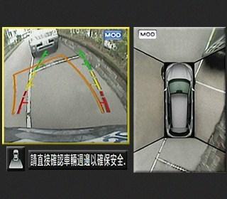 360° 環景影像行車輔助系統