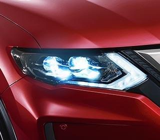 LED立體雙魚眼頭燈