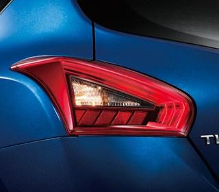 LED漸層導光式尾燈