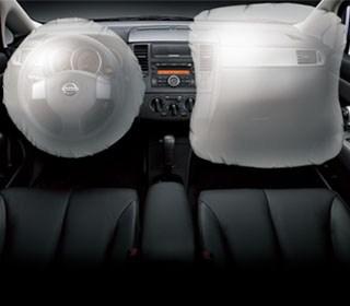 雙前座SRS輔助氣囊+安全帶預縮